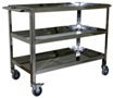 Food Trolley Tertutup Stainless