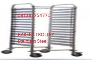Bakery Trolley Stainless