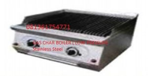 Gas Char Boiler low pressure Staunless Steel