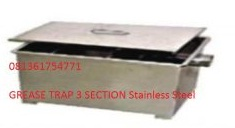 Grease Trap 3 Section Stainless